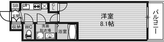 物件○○の間取り図