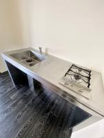 ゴクオシ:ステンレス製の男前キッチン