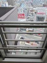 最上階にて空中散歩